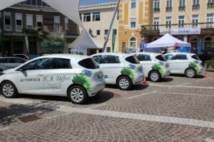 Carsharing ZOEs von Family of Power