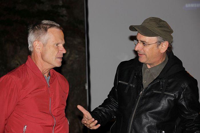 Dr. Paul Gleirscher und Hans-Peter Premur