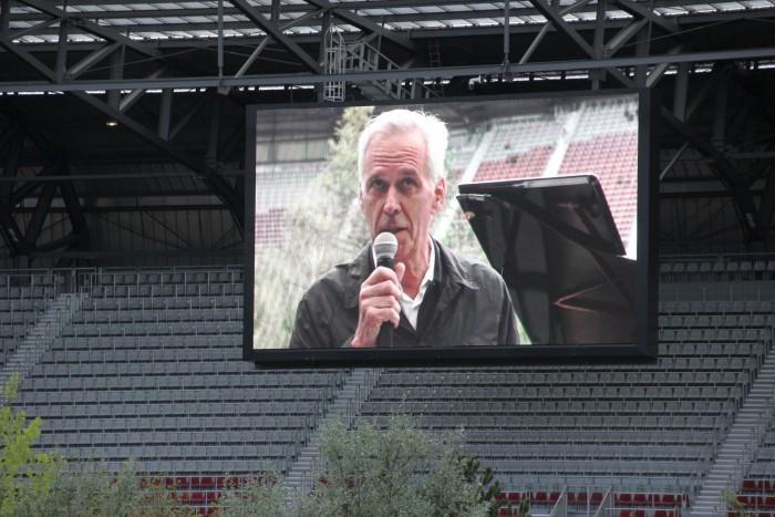 Klaus Littmann bei Eröffnung