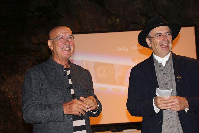 Otto Retzer und Hans-Peter Premur