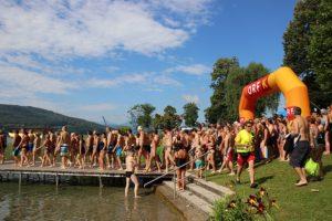 Schwimmen statt Baden in Krumpendorf 2016