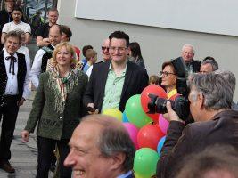 Marktrefent Mathias Köchl und Bgm. Hilde Gaggl