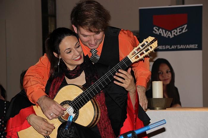 Marco Tamayo und Anabel Montesinos